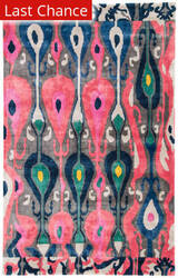 Jaipur Living Greenpoint By Kate Spade New York Multi Ikat Gre03 Pink - Gray Area Rug