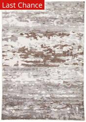 Rugstudio Sample Sale 181515R Gray - White Area Rug