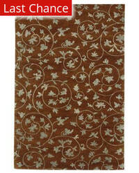 Rugstudio Sample Sale 53408R Tobacco Area Rug