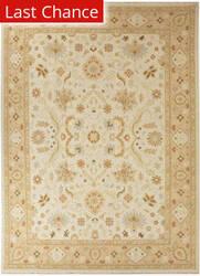 Rugstudio Sample Sale 53417R Dark Ivory/Tan Area Rug