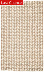 Rugstudio Sample Sale 181551R White - Taupe Area Rug