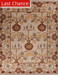 Rugstudio Sample Sale 75166R Creamy White Area Rug