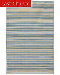 Jaipur Living Coastal Living - Dhurries Malibu CC02 Pastel Blue Area Rug