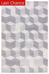 Rugstudio Sample Sale 169918R Wild Dove - Vaporous Gray Area Rug