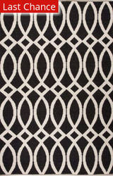 Jaipur Living Roosevelt By Kate Spade New York Loop De Loop Rkn02 Black Area Rug
