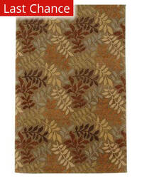 Rugstudio Sample Sale 53468R Gray Brown Area Rug