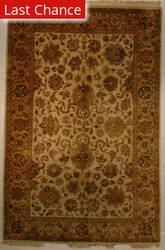 J. Aziz Antiqued Jaipur 929 Fwn-Fwn 86846 Area Rug