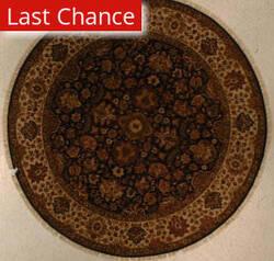 J. Aziz Antiqued Jaipur Om-4 Blu-Lin 86856 Area Rug