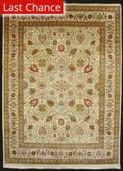 J. Aziz Haj Jalili V-1643 Ivory / Rust Area Rug