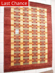 J. Aziz Peshawar Novelty Brown- 86885 Area Rug