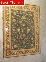 J. Aziz Peshawar Ult-205 Gray-Brown 86978 Area Rug
