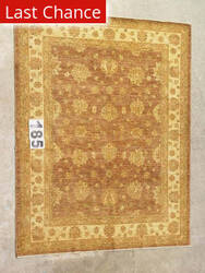 J. Aziz Peshawar Ult-409 Brown-Beige 86992 Area Rug