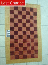 J. Aziz Peshawar Novelty Red- 86923 Area Rug