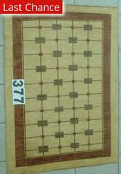 J. Aziz Peshawar Novelty Beige- 86879 Area Rug