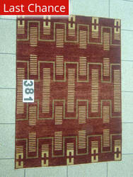 J. Aziz Peshawar Novelty Brown- 86892 Area Rug