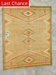 J. Aziz Peshawar Novelty Gold- 86905 Area Rug