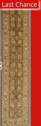 J. Aziz Peshawar Ult-122 Brown-Beige 86934 Area Rug