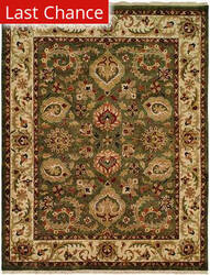 Rugstudio Sample Sale 13576R Green/Gold Area Rug