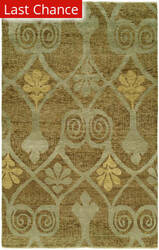 Rugstudio Sample Sale 126490R Walnut Area Rug