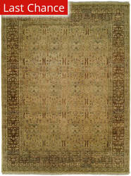 Rugstudio Sample Sale 126545R Tan Coffee Area Rug