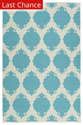 Rugstudio Sample Sale 128920R Turquoise Area Rug
