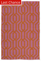 Rugstudio Sample Sale 128973R Pink Area Rug