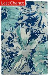 Rugstudio Sample Sale 112773R Blue Area Rug