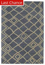Rugstudio Sample Sale 100109R Blue Area Rug