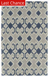 Rugstudio Sample Sale 171044R Denim Area Rug