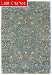 Rugstudio Sample Sale 153439R Turquoise Area Rug