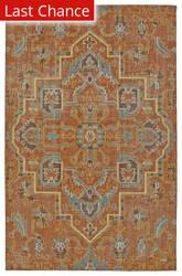 Rugstudio Sample Sale 149554R Paprika Area Rug