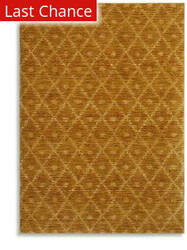 Karastan Woven Impressions Diamond Ikat Curry 35502-21141 Area Rug