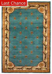 Rugstudio Sample Sale 54825R Wedgewood Blue Area Rug