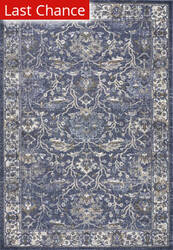 Rugstudio Sample Sale 193164R Denim Area Rug