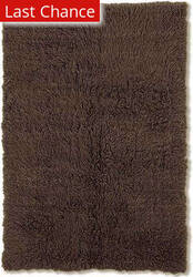 Linon New Flokati 1400 Grams Cocoa Area Rug