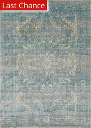 Rugstudio Sample Sale 125632R Light Blue - Mist Area Rug