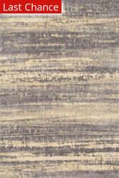 Rugstudio Sample Sale 113403R Grey / Gold Area Rug
