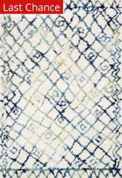 Rugstudio Sample Sale 146370R Ivory - Ocean Area Rug