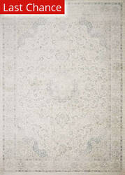 Rugstudio Sample Sale 192367R Ivory - Blue Area Rug