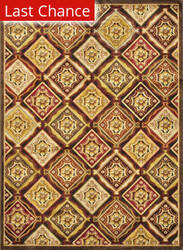Loloi Halton HL-02 Brown - Rust Area Rug