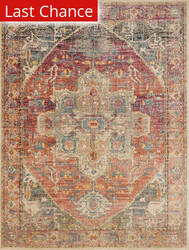 Rugstudio Sample Sale 167380R Berry - Sunrise Area Rug