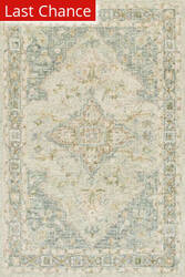 Rugstudio Sample Sale 186140R Seafoam Green - Spa Area Rug