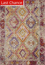 Rugstudio Sample Sale 192392R Pink - Multi Area Rug
