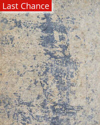 Rugstudio Sample Sale 181662R Beige - Blue Area Rug