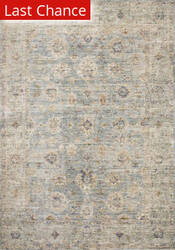 Rugstudio Sample Sale 199668R Light Blue - Multi Area Rug