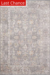 Rugstudio Sample Sale 204591R Grey - Apricot Area Rug