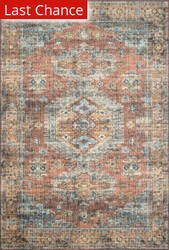 Rugstudio Sample Sale 206694R Terracotta - Sky Area Rug