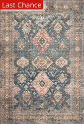 Rugstudio Sample Sale 206697R Sea - Rust Area Rug