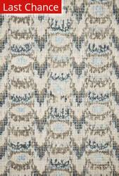 Rugstudio Sample Sale 182731R Blue - Turquoise Area Rug