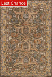 Rugstudio Sample Sale 158178R Walnut - Multi Area Rug